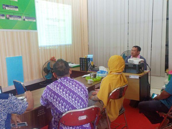 Dr. Aslan, M.Pd.I Memimpin Rapat Penyusunan Restra LP2M IAIS Sambas
